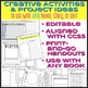 Creative Activities for ANY Novel or Short Story with Handouts