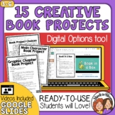 Book Report Projects with Grading Rubrics