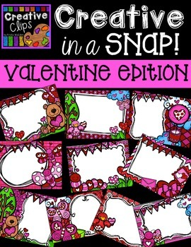 Creative in a SNAP: VALENTINE Edition {Creative Clips Digital Clipart}