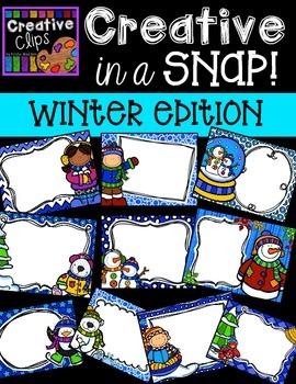 Creative in a SNAP: Winter Edition {Creative Clips Digital Clipart}