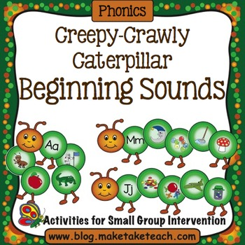 Creepy- Crawly Caterpillar Beginning Sounds