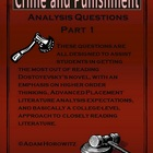 Crime and Punishment Part 1 Analysis Questions