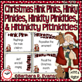 Critical Thinking -- Christmas Hink Pinks, et al