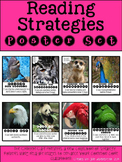 Reading Strategies Poster Set with Real Life Images