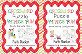 Crossword Puzzle Phonics Fun Bundled Set