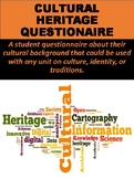 Cultural Heritage Questionnaire