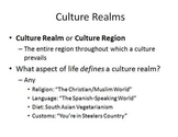 Culture: An analysis of the rise and fall of culture aroun