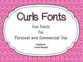 Curls Fonts: Fonts for Personal and Commercial Use