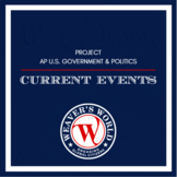 Current Events for AP Gov: Method, Rubric, Template, Examp
