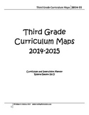 Curriculum Map for 3rd Grade (2014-2015)
