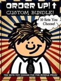 Custom Bundle Order Up! Set (10 Sets YOU Choose)