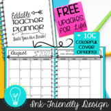Ultimate Teacher Planner & Organizer Binder EDITABLE {Ink-