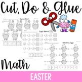 Cut, Do & Glue- Easter Math
