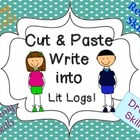 Cut and Paste Drama Skills Write into Lit Logs