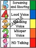 Cute Classroom Noise Meter