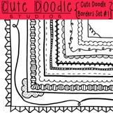 Cute Doodle Borders Set #1