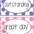 Cute behavior clip chart