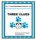 ELA ACTIVITY- DESCRIBING - THREE CLUES