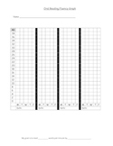 DIBELS: Oral Reading Fluency Student Graphing Chart