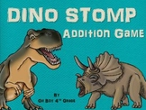 DINO STOMP addition game