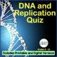 DNA (Deoxyribonucleic Acid), RNA, Protein Synthesis Quizze