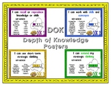 DOK - Depth of Knowledge Thinking Posters