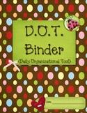 D.O.T. Binder Starter Kit
