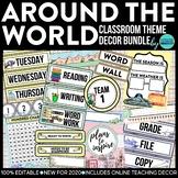 DOWN TO EARTH - classroom design bundle (polka dot theme)