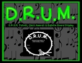 D.R.U.M. Award & Bulletin Board Pack