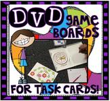 DVD Task Card Game Boards!