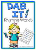 Dab It! Rhyming Words