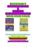 Dahl 2-pack: Fantastic Mr Fox & George's Marvelous Medicin
