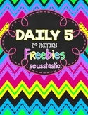 Daily 5-2nd Edition FREEBIES