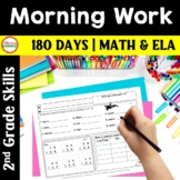 2nd Grade MORNING WORK {Daily Common Core & More} - FULL YEAR