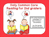 Daily Common Core Reading for 2nd Graders {45 passages for