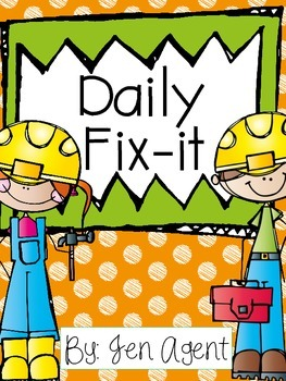 Daily Fix-it {Capitalization and Punctuation}