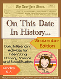 Daily Inferencing Activities for September