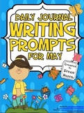 Daily Journal Writing Prompts ~ May & Spring  {Common Core