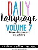 Daily Language 6