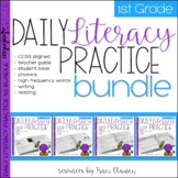 Reading and Writing - Daily Literacy Practice - First Grad