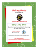 Daily Living Skills--Making Meals Workbook