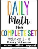 Daily Math Complete Set