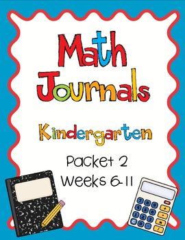 Daily Math Journals: Packet 2