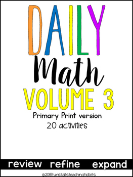 Daily Math Three