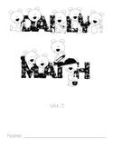 Daily Math Unit 3