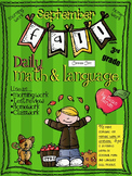 Daily Math and Language: September