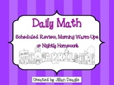 Daily Math for 2nd or 3rd Grade: April Edition