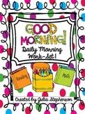 Daily Morning Work- Set 1