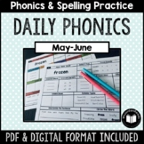"""Daily Phonics"" Word Work (May - June)"