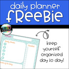 Daily Planner {FREEBIE}